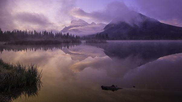 mountains-sunrise-clear-sky-violet-5k-80